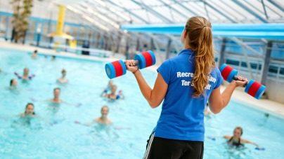 KIKK recreatie zwemmen studenten